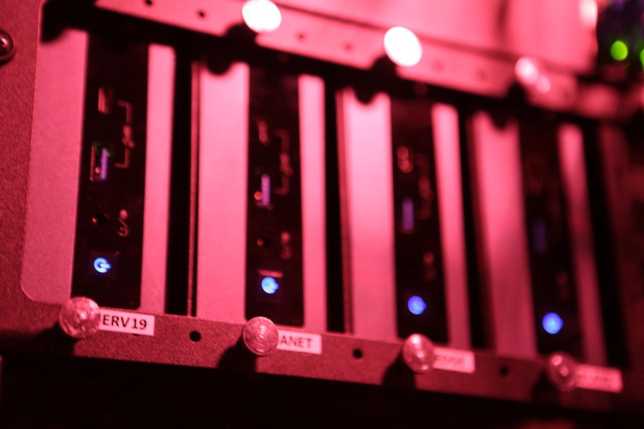 AdaNet.io's Energy-efficient Intel NUC Cluster